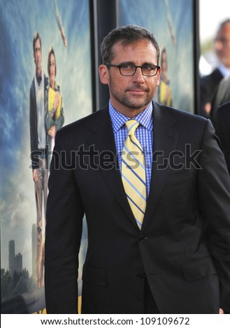 "LOS ANGELES, CA - JUNE 19, 2012: Steve Carell at the world premiere of his movie ""Seeking a Friend for the End of the World"" at Regal Cinemas LA Live."
