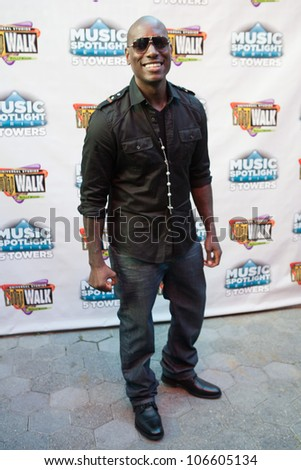 "LOS ANGELES, CA - JUNE 29: Tyrese arrives to the one year anniversary of the ""5 Towers,"" a state-of-the art concert venue at Universal Studios' CityWalk on June 29, 2012 in Los Angeles, CA."