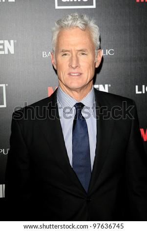 LOS ANGELES, CA - MAR 14: John Slattery at AMC's special screening of 'Mad Men' season 5 held at ArcLight Cinemas Cinerama Dome on March 14, 2012 in Los Angeles, California - stock photo