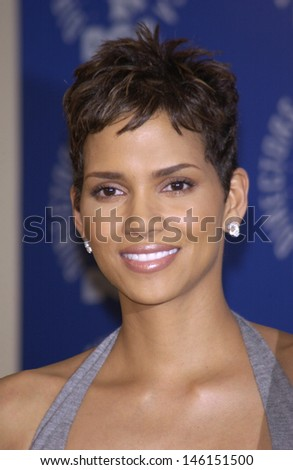 LOS ANGELES, CA - MARCH 9, 2002: Actress HALLE BERRY at the 54th Annual Directors Guild Awards in Beverly Hills.