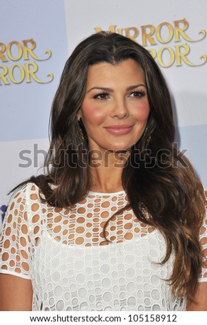 """LOS ANGELES, CA - MARCH 17, 2012: Ali Landry at the world premiere of """"Mirror Mirror"""" at Grauman's Chinese Theatre, Hollywood. March 17, 2012  Los Angeles, CA"""