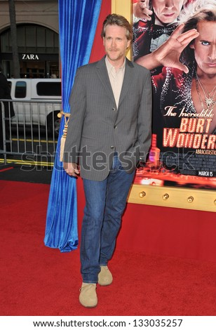 "LOS ANGELES, CA - MARCH 11, 2013: Cary Elwes at the world premiere of ""The Incredible Burt Wonderstone"" at the Chinese Theatre, Hollywood."