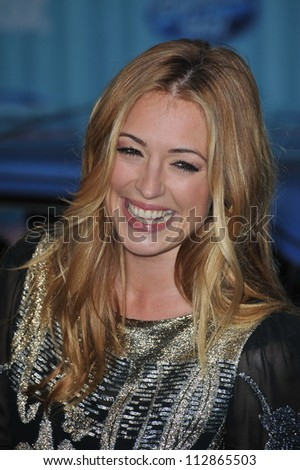 LOS ANGELES, CA - MARCH 5, 2009: Cat Deeley at the American Idol Final 13 Party at Area Nightclub, West Hollywood.