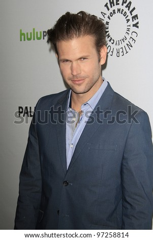 LOS ANGELES, CA - MARCH 10: Matthew Davis at The Paley Center For Media's PaleyFest 2012 honoring 'Vampire Diaries' at the Saban Theater on March 10, 2012 in Beverly Hills, California