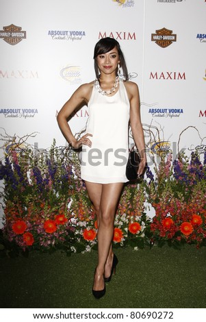 LOS ANGELES, CA - MAY 19: Aimee Garcia arrives at the 11th annual Maxim Hot 100 Party at Paramount Studios on May 19, 2010 in Los Angeles, California