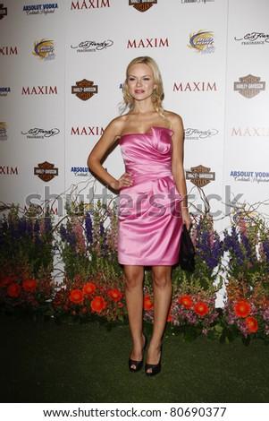 LOS ANGELES, CA - MAY 19: Anya Monzikova arrives at the 11th annual Maxim Hot 100 Party at Paramount Studios on May 19, 2010 in Los Angeles, California