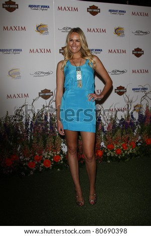LOS ANGELES, CA - MAY 19: Ashlan Gorse arrives at the 11th annual Maxim Hot 100 Party at Paramount Studios on May 19, 2010 in Los Angeles, California