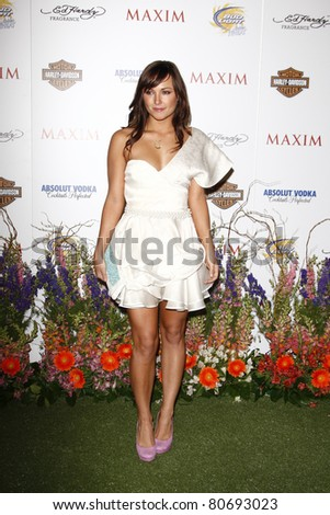 LOS ANGELES, CA - MAY 19: Briana Evigan arrives at the 11th annual Maxim Hot 100 Party at Paramount Studios on May 19, 2010 in Los Angeles, California