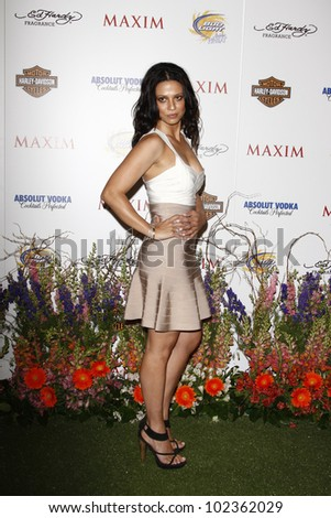 LOS ANGELES, CA - MAY 19: Navi Rawat arrives at the 11th annual Maxim Hot 100 Party at Paramount Studios on May 19, 2010 in Los Angeles, California