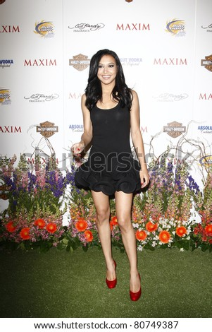 LOS ANGELES, CA - MAY 19: Naya Rivera arrives at the 11th annual Maxim Hot 100 Party at Paramount Studios on May 19, 2010 in Los Angeles, California