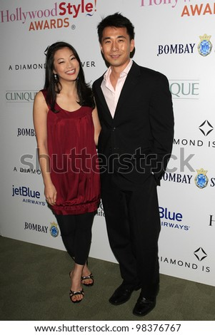 LOS ANGELES, CA - NOV 8: James Kyson Lee, Arden Cho is at an event where actress/singer Emmy Rossum released her new CD 'Inside Out' with a party in Los Angeles, CA on November  8, 2007