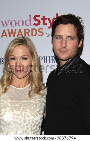 LOS ANGELES, CA - NOV 8: Jennie Garth, Peter Facinelli is at an event where actress/singer Emmy Rossum released her new CD 'Inside Out' with a party in Los Angeles, CA on November  8, 2007