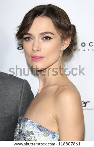 LOS ANGELES, CA - NOVEMBER 14: Actress Keira Knightley attends the premiere of Focus Features' 'Anna Karenina' held at ArcLight Cinemas on November 14, 2012 in Hollywood, California