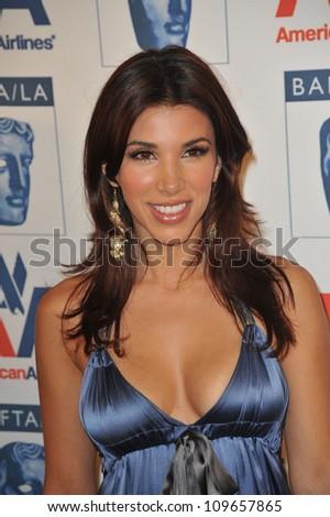 LOS ANGELES, CA - NOVEMBER 5, 2009: Adrianna Costa at the 18th Annual BAFTA/LA Britannia Awards at the Hyatt Century Plaza Hotel, Century City.