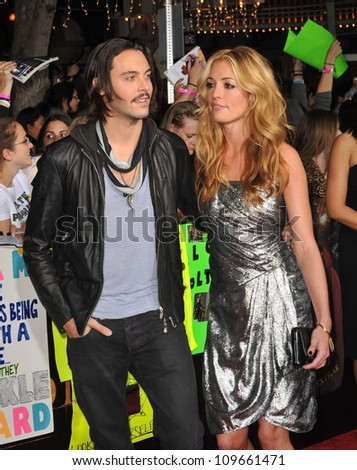 "LOS ANGELES, CA - NOVEMBER 16, 2009: Cat Deeley & Jack Huston at the world premiere of ""The Twilight Saga: New Moon"" at Mann Village & Bruin Theatres, Westwood."