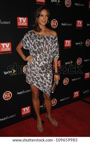 "LOS ANGELES, CA - NOVEMBER 10, 2009: ""CSI: Miami"" star Eva La Rue at TV Guide Magazine's Hot List Party at the SLS Hotel, Beverly Hills."