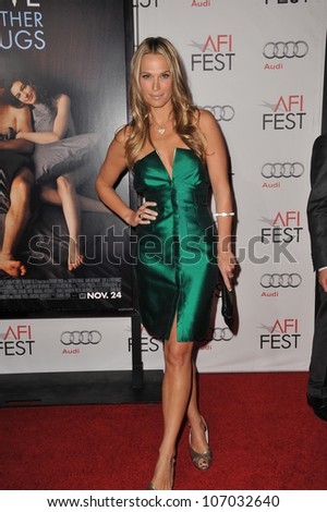 """LOS ANGELES, CA - NOVEMBER 4, 2010: Molly Sims at the world premiere of """"Love & Other Drugs"""" at Grauman's Chinese Theatre, Hollywood."""