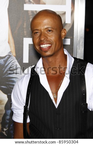 LOS ANGELES, CA - OCT 3: Jamal Sims at Paramount Pictures' premiere of 'Footloose' held at the Regency Village Theater on October 3, 2011 in Los Angeles, California