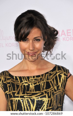 LOS ANGELES, CA - OCTOBER 1, 2010: Amanda Crew at the 8th Annual Teen Vogue Young Hollywood Party in partnership with Michael Kors at Paramount Studios, Hollywood.