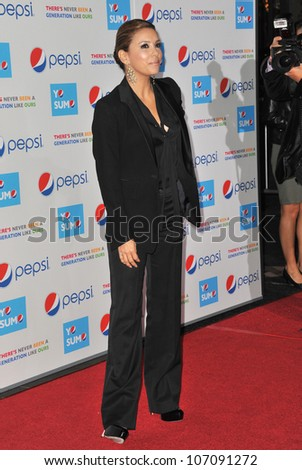 LOS ANGELES, CA - OCTOBER 21, 2010: Eva Longoria Parker at the premiere of her new documentary Ã?Â?Latinos Living the American DreamÃ?Â?