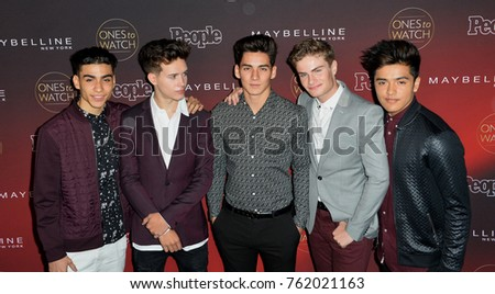 """LOS ANGELES, CA - October 04, 2017: In Real Life at the 2017 People's """"Ones To Watch"""" event at NeueHouse Hollywood"""