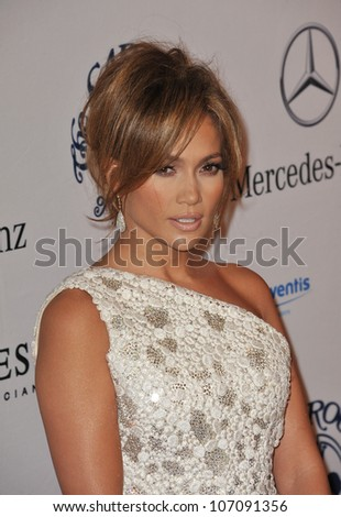 LOS ANGELES, CA - OCTOBER 23, 2010: Jennifer Lopez at the 32nd Anniversary Carousel of Hope Ball at the Beverly Hilton Hotel.