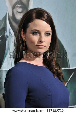 "LOS ANGELES, CA - OCTOBER 15, 2012: Rachel Nichols at the Los Angeles premiere of her movie ""Alex Cross"" at the Cinerama Dome, Hollywood."