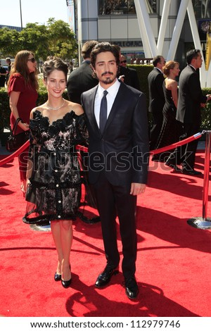 LOS ANGELES, CA - SEP 15: Ben Feldman at the Academy Of Television Arts & Sciences 2012 Creative Arts Emmy Awards held at Nokia Theater L.A. LIVE on September 15, 2012 in Los Angeles, California