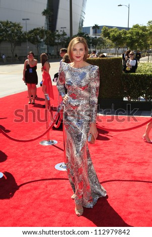 LOS ANGELES, CA - SEP 15: Brenda Strong at the Academy Of Television Arts & Sciences 2012 Creative Arts Emmy Awards held at Nokia Theater L.A. LIVE on September 15, 2012 in Los Angeles, California