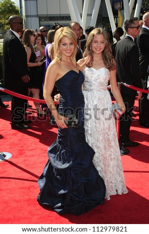 LOS ANGELES, CA - SEP 15: Candace Cameron Bure at the Academy Of Television Arts & Sciences 2012 Creative Arts Emmy Awards held at Nokia Theater on September 15, 2012 in Los Angeles, California