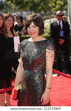 LOS ANGELES, CA - SEP 15: Carrie Brownstein at the Academy Of Television Arts & Sciences 2012 Creative Arts Emmy Awards held at Nokia Theater L.A. LIVE on September 15, 2012 in Los Angeles, California