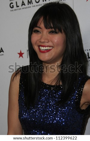 LOS ANGELES, CA - SEP 7: Jessica Lu at Macy's Passport Presents: Glamorama - 30th Anniversary in Los Angeles held at The Orpheum Theater on September 7, 2012 in Los Angeles, California.