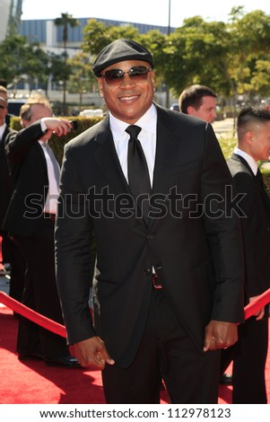 LOS ANGELES, CA - SEP 15: LL Cool J at the Academy Of Television Arts & Sciences 2012 Creative Arts Emmy Awards held at Nokia Theater L.A. LIVE on September 15, 2012 in Los Angeles, California