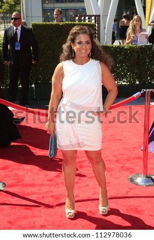 LOS ANGELES, CA - SEP 15: Marissa Jaret Winokur at the Academy Of Television Arts & Sciences 2012 Creative Arts Emmy Awards held at Nokia Theater on September 15, 2012 in Los Angeles, California