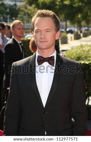 LOS ANGELES, CA - SEP 15: Neil Patrick Harris at the Academy Of Television Arts & Sciences 2012 Creative Arts Emmy Awards held at Nokia Theater on September 15, 2012 in Los Angeles, California - stock photo
