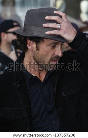 LOS ANGELES, CA - SEP 25: Patrick Dempsey at the IRIS, A Journey Through the World of Cinema by Cirque du Soleil premiere September 25, 2011 at Kodak Theater in Los Angeles, California