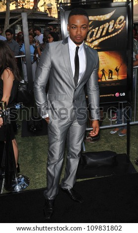 "LOS ANGELES, CA - SEPTEMBER 23, 2009: Collins Pennie at the Los Angeles premiere of his new movie ""Fame"" at The Grove Theatre, Los Angeles."