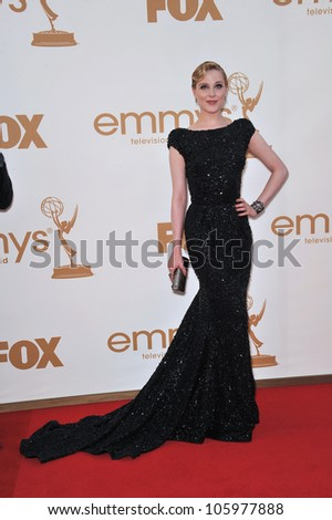 LOS ANGELES, CA - SEPTEMBER 18, 2011: Evan Rachel Wood at the 2011 Primetime Emmy Awards at the Nokia Theatre, L.A. Live. September 18, 2011  Los Angeles, CA