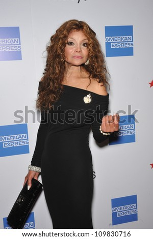 LOS ANGELES, CA - SEPTEMBER 24, 2009: Latoya Jackson at the Macy's Passport 2009 Fashion Show at Barker Hanger, Santa Monica Airport.