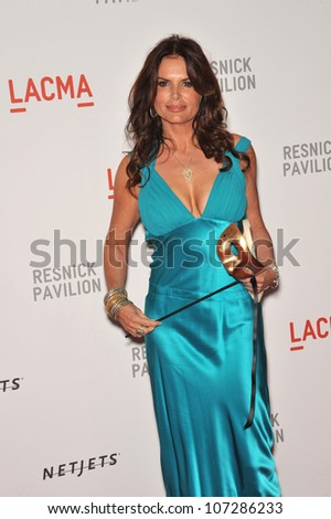 LOS ANGELES, CA - SEPTEMBER 25, 2010: Roma Downey at a benefit gala at  LACMA for the opening of  The Lynda & Stewart Resnick Exhibition Pavilion in Los Angeles, CA.
