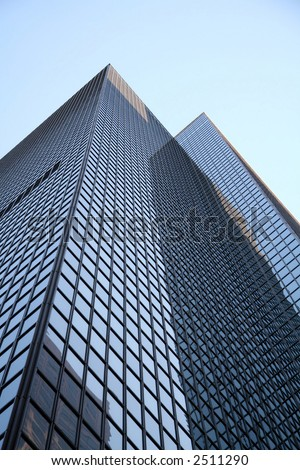 Los Angeles city skyscraper