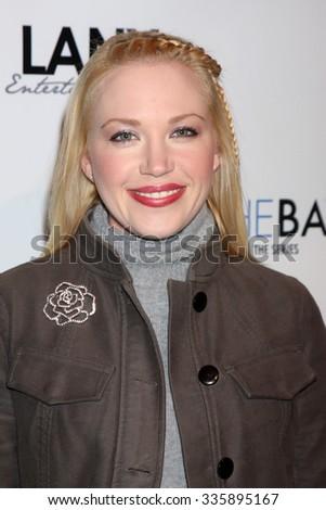 LOS ANGELES - DEC 4:  Adrienne Frantz at the \