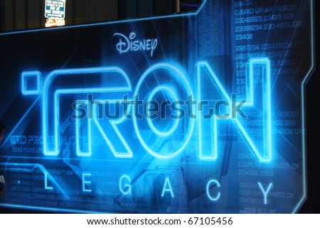 """LOS ANGELES - DEC 11:  Atmosphere arrives at the """"TRON: Legacy"""" Premiere at El Capitan Theater on December 11, 2010 in Los Angeles, CA. - stock photo"""