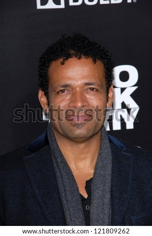 LOS ANGELES - DEC 10:  Mario Van Peebles arrives to the 'Zero Dark Thirty' premiere at Dolby Theater on December 10, 2012 in Los Angeles, CA