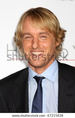 LOS ANGELES - DEC 13:  Owen Wilson at Heather Tom's Annual Christmas Party 2010 at Village Theater on December 13, 2010 in Westwood, CA.