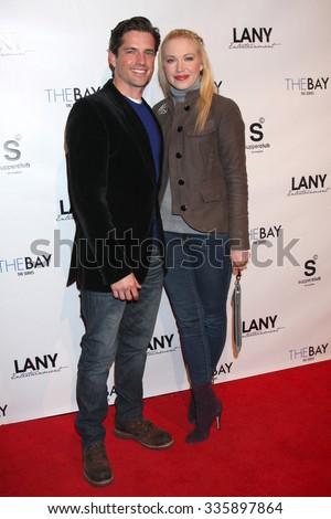 LOS ANGELES - DEC 4:  Scott Bailey, Adrienne Frantz at the \