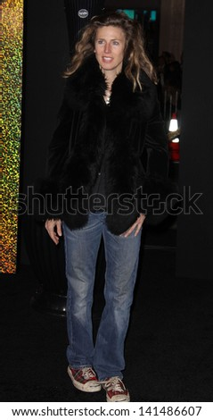 "LOS ANGELES - DEC 05:  SOPHIE B. HAWKINS arriving to ""New Year's Eve"" World Premiere  on December 5, 2011 in Hollywood, CA"