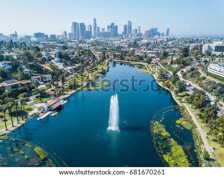 Los Angeles - Echo Park #681670261