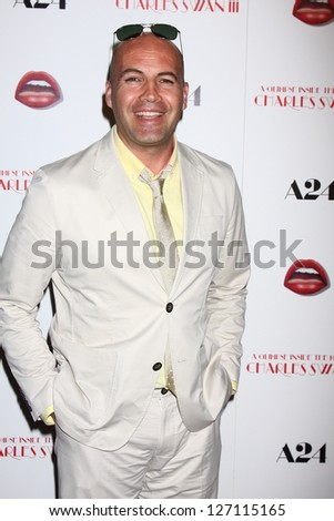 LOS ANGELES - FEB 4:  Billy Zane arrives at 'A Glimpse Inside the Mind of Charles Swan III' LA Premiere at the ArcLight Hollywood on February 4, 2013 in Los Angeles, CA