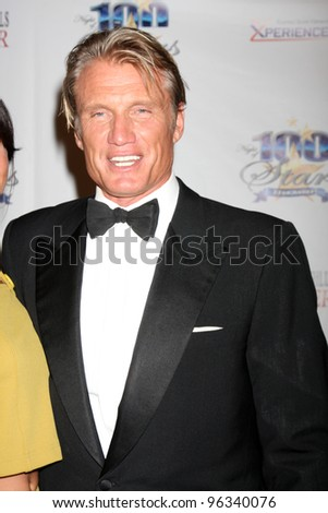 "LOS ANGELES - FEB 26:  Dolph Lundgren arrives at the ""Night of a 100 Stars"" Oscar Viewing Party at the Beverly Hills Hotel on February 26, 2012 in Beverly Hills, CA."